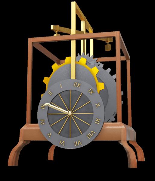 Reloj 3d SEHCYT