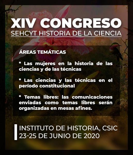 Cartel XIV Congreso SEHCYT
